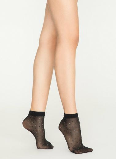 Penti Ant Soket Çorap Siyah
